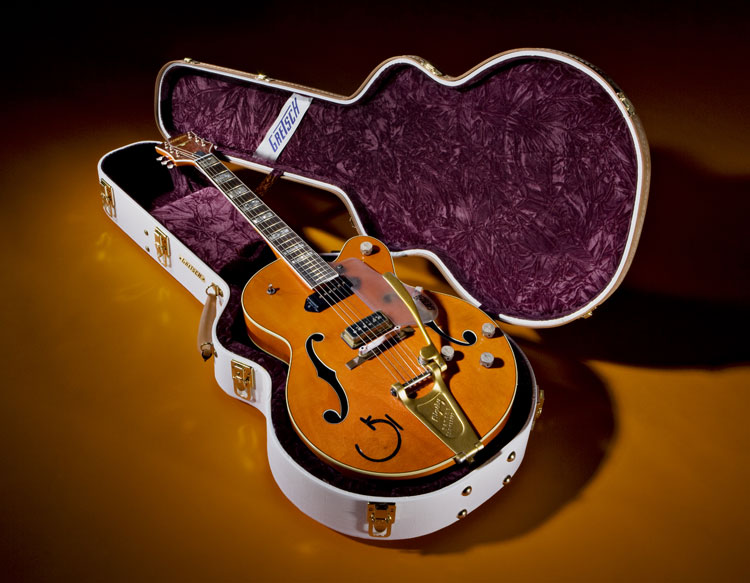 Eddie Cochran Tribute Guitar