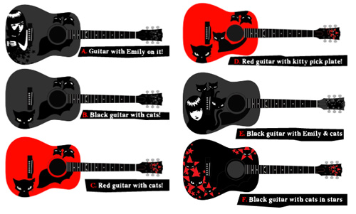epi want you to pick design for new emily the strange acoustic