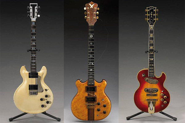 Jerry Garcia's Guitars