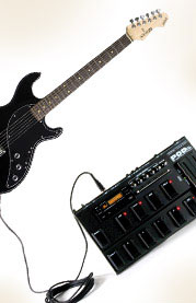 Line 6 Guitar and POD package