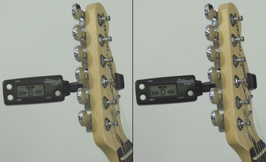 The Miracle Guitar Tuning B and D