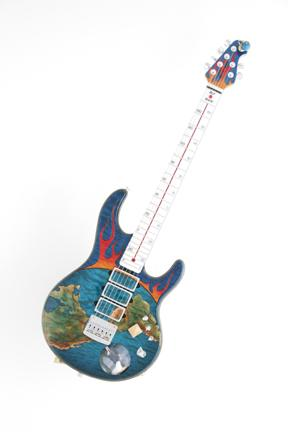 Spinal Tap Ernie Ball Global Warming Guitar