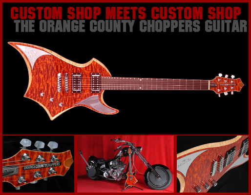 Peavey Orange County Choppers guitar