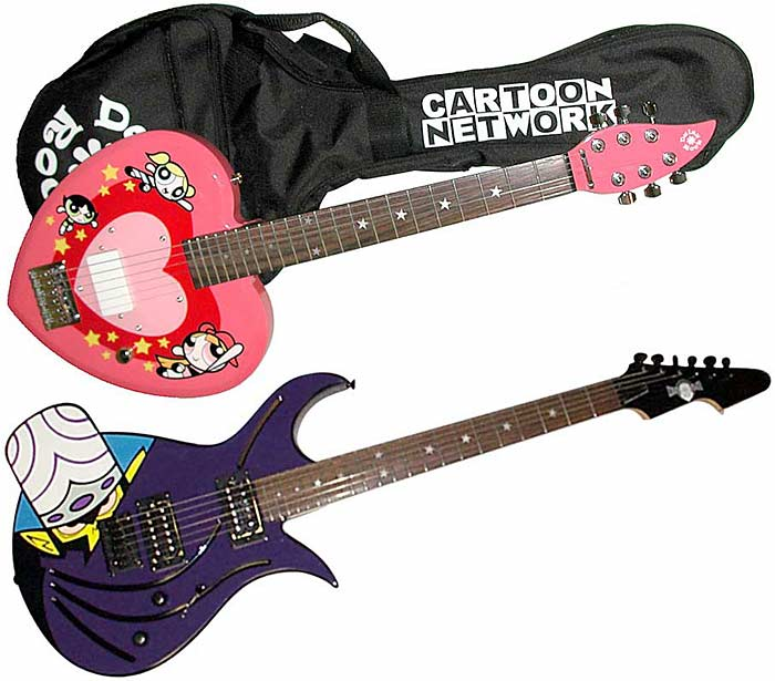Top 10 comic and cartoon guitars (we could have done without)