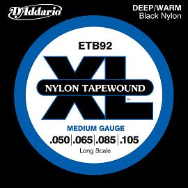 nylon tapewound bass strings from d addario guitarsite. Black Bedroom Furniture Sets. Home Design Ideas