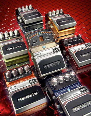 Hardwire Series Guitar Pedals