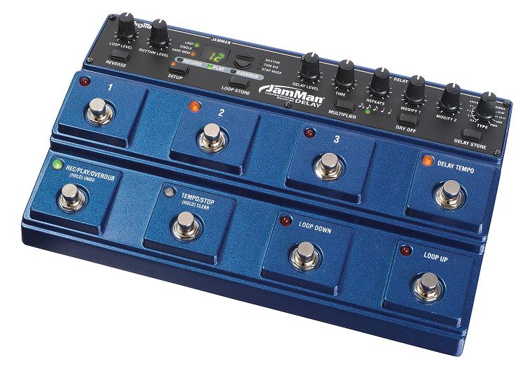 digitech now shipping the jamman stereo looper pedal guitarsite. Black Bedroom Furniture Sets. Home Design Ideas