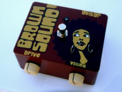 The Brown Sound Pedal