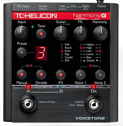 voicetone harmony g pedal now shipping guitarsite. Black Bedroom Furniture Sets. Home Design Ideas